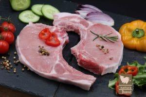 Achat en ligne côte de porc fermier
