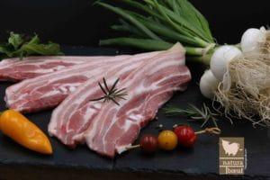 Acheter poitrine de porc nature direct élevage