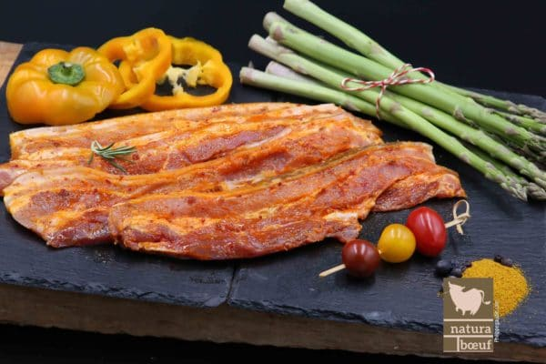 Achat en ligne poitrine de porc fermier mariné Arizona