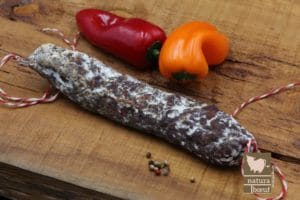 Acheter chorizo de bœuf fermier