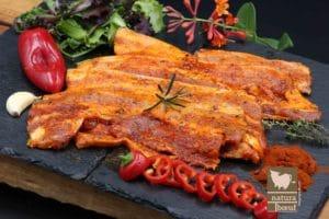Acheter direct producteur poitrine de porc marinade Barbecue