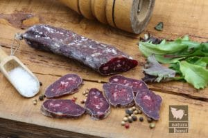 Acheter en ligne saucisson de bœuf direct producteur