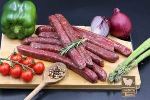 Merguez de bœuf achat en direct producteur